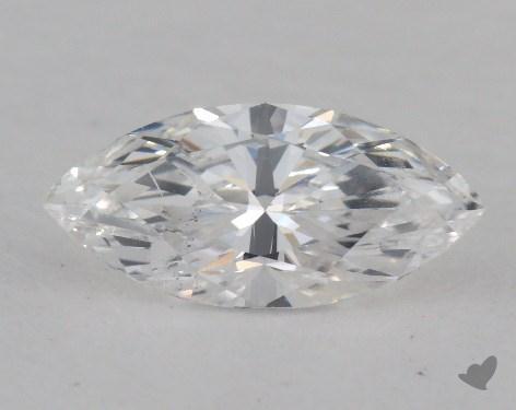 0.76 Carat D-SI2 Marquise Cut Diamond
