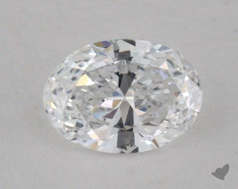0.76 Carat D-IF Oval Cut Diamond