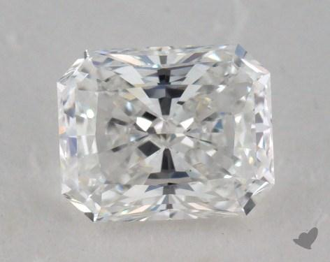 0.84 Carat D-VS1 Radiant Cut Diamond
