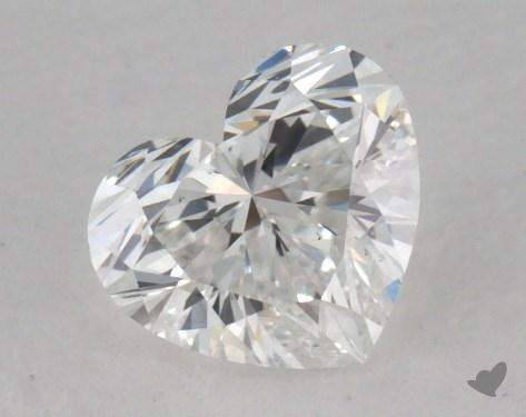 0.52 Carat E-VS1 Heart Shape Diamond