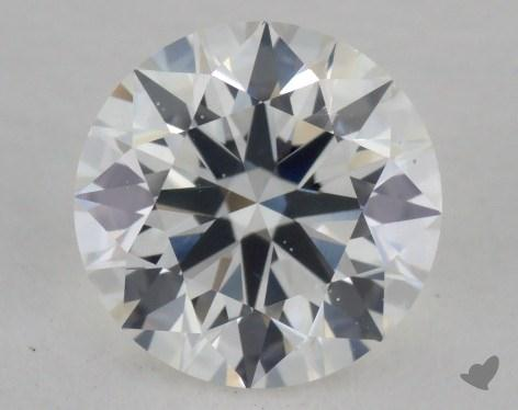 0.92 Carat H-VS2 Excellent Cut Round Diamond
