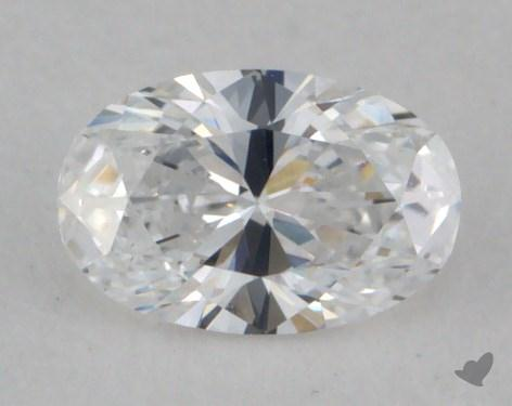 0.31 Carat D-VS1 Oval Cut  Diamond