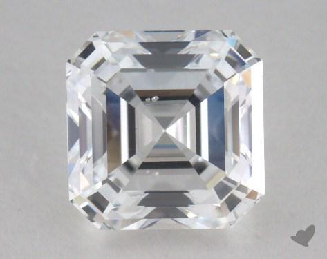 1.51 Carat D-SI1 Square Emerald Cut Diamond