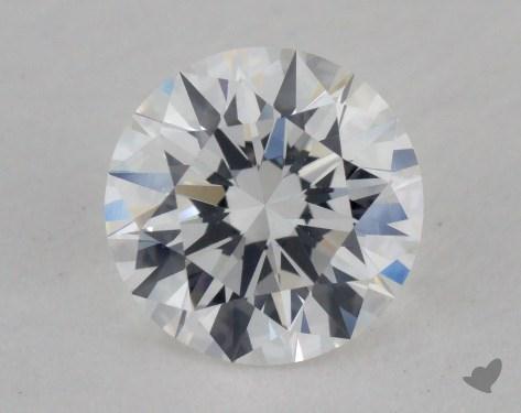 0.63 Carat F-VS1 Excellent Cut Round Diamond