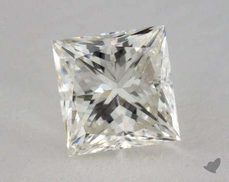 2.01 Carat J-SI1 Very Good Cut Princess Diamond