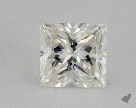 0.53 Carat K-SI1 Very Good Cut Princess Diamond