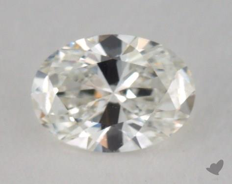 0.72 Carat H-IF Oval Cut Diamond