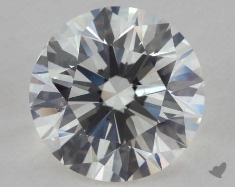 2.22 Carat H-VS2 Excellent Cut Round Diamond