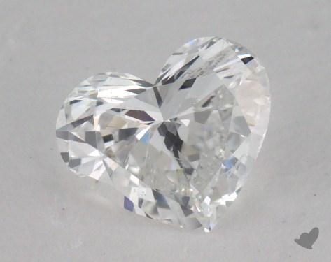 1.00 Carat E-SI2 Heart Shape Diamond