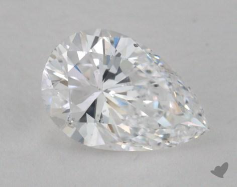 1.51 Carat D-SI2 Pear Shaped  Diamond