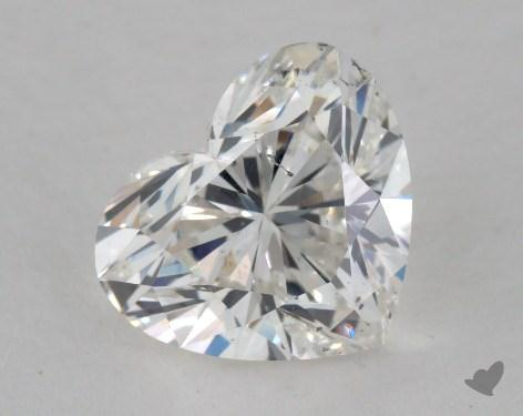 2.03 Carat F-SI2 Heart Shape Diamond