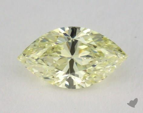 0.50 Carat fancy light yellow-SI1 Marquise Cut Diamond