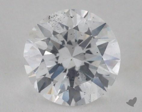 2.00 Carat D-SI2 Very Good Cut Round Diamond