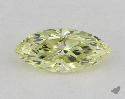0.53 Carat fancy yellow-VS2 Marquise Cut  Diamond