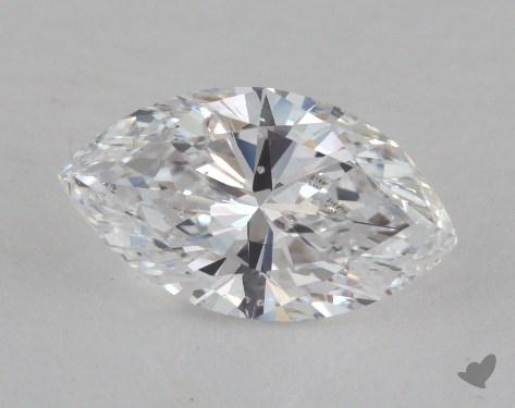 1.63 Carat D-SI1 Marquise Cut Diamond