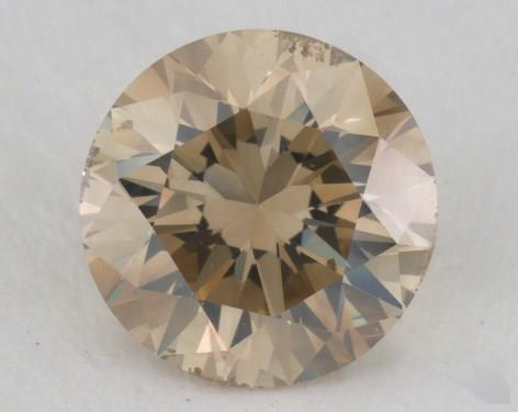 1.15 Carat fancy yellow-SI2 Round Cut  Diamond