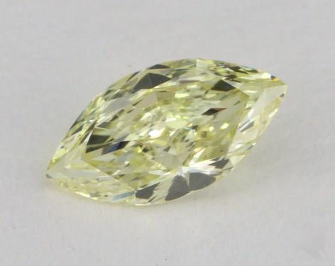 0.60 Carat fancy light yellow-VS1 Marquise Cut Diamond