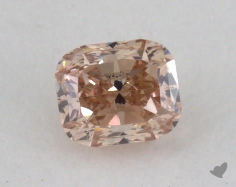 0.20 Carat fancy brown-SI2 Cushion Cut Diamond
