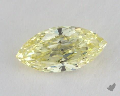 0.52 Carat fancy yellow-SI1 Marquise Cut  Diamond