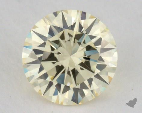 1.01 Carat light yellow-VS2 Round Cut Diamond