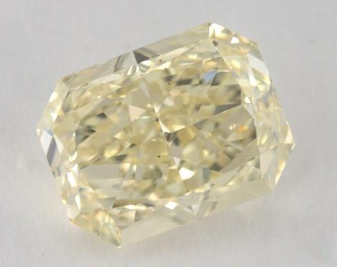 4.01 Carat fancy light yellow-VS2 Radiant Cut Diamond