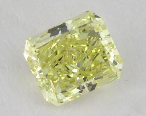 0.60 Carat fancy yellow-VS2 Radiant Cut Diamond