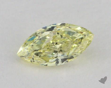 0.59 Carat fancy yellow-SI2 Marquise Cut  Diamond