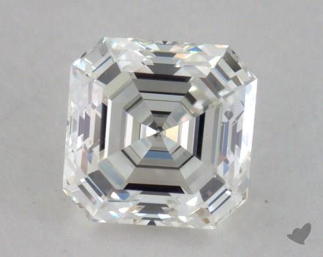 0.86 Carat H-VVS2 Asscher Cut  Diamond