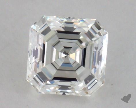 0.86 Carat H-VVS2 Asscher Cut Diamond