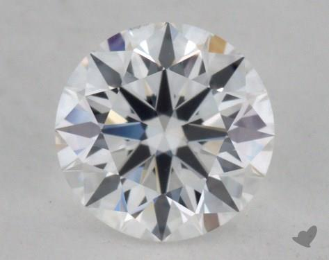 0.78 Carat E-VS2 True Hearts<sup>TM</sup> Ideal Diamond