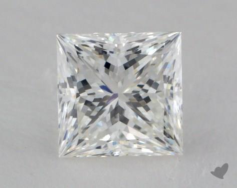 1.53 Carat G-VS1 Ideal Cut Princess Diamond