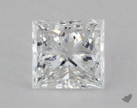 1.01 Carat E-SI1 Princess Cut Diamond