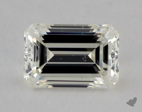 1.19 Carat K-VS2 Emerald Cut Diamond