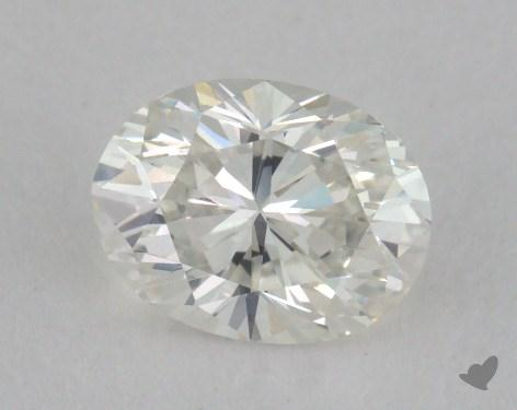 0.73 Carat D-VS1 Oval Cut Diamond