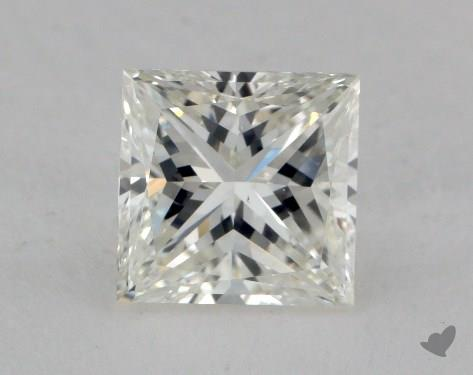 1.72 Carat I-VS2 Very Good Cut Princess Diamond