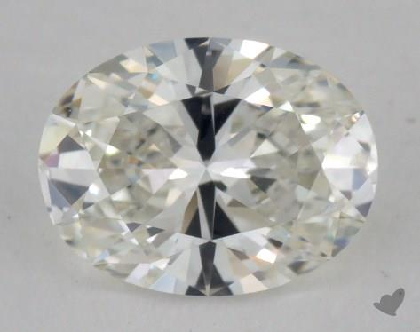 0.90 Carat I-VS2 Oval Cut Diamond