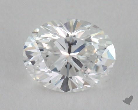 0.79 Carat D-VS1 Oval Cut Diamond
