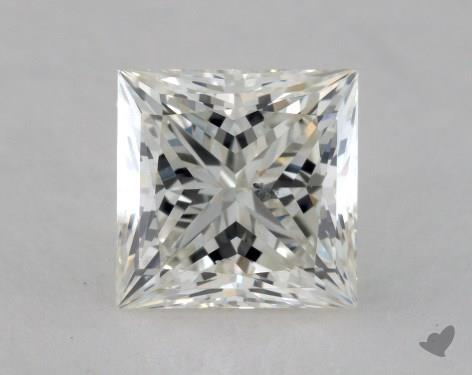 1.69 Carat J-SI1 Ideal Cut Princess Diamond
