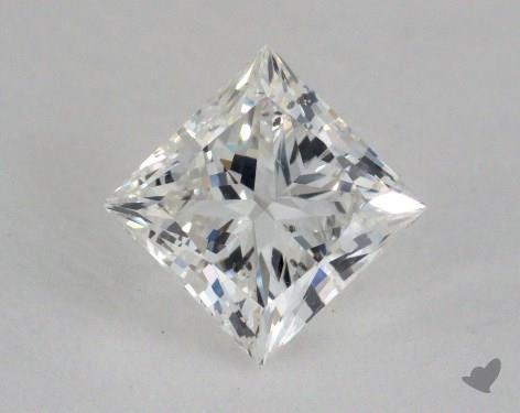 1.01 Carat H-SI2 Ideal Cut Princess Diamond