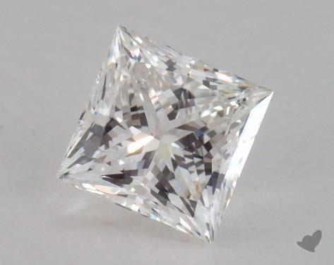 1.52 Carat H-SI1 Ideal Cut Princess Diamond