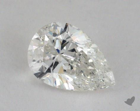 1.02 Carat H-SI2 Pear Shape Diamond