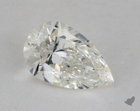 1.00 Carat H-VS2 Pear Cut Diamond