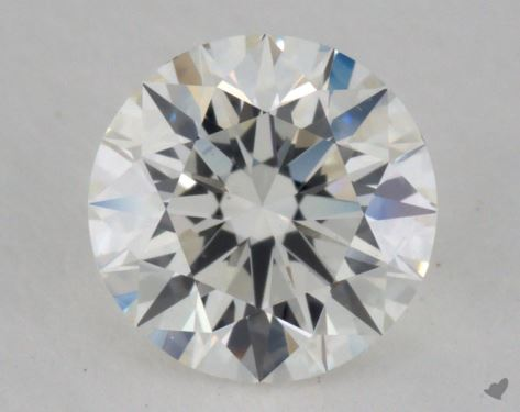 0.74 Carat H-VS2 Excellent Cut Round Diamond
