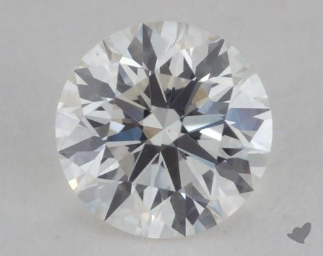 0.80 Carat H-VS2 Excellent Cut Round Diamond