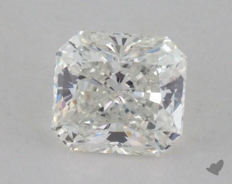 0.76 Carat G-SI1 Radiant Cut Diamond