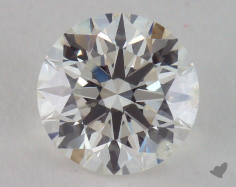 0.92 Carat H-SI2 Very Good Cut Round Diamond