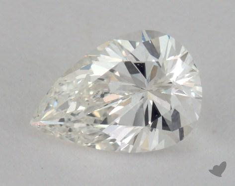 0.82 Carat G-VS1 Pear Shape Diamond