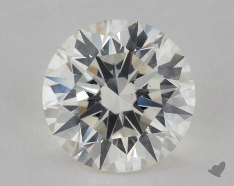 2.03 Carat J-VS2 Ideal Cut Round Diamond