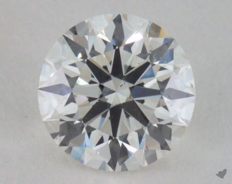 0.67 Carat H-VS2 Excellent Cut Round Diamond