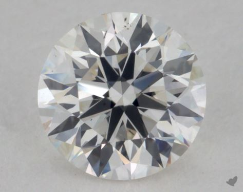 0.61 Carat H-VS2 Excellent Cut Round Diamond